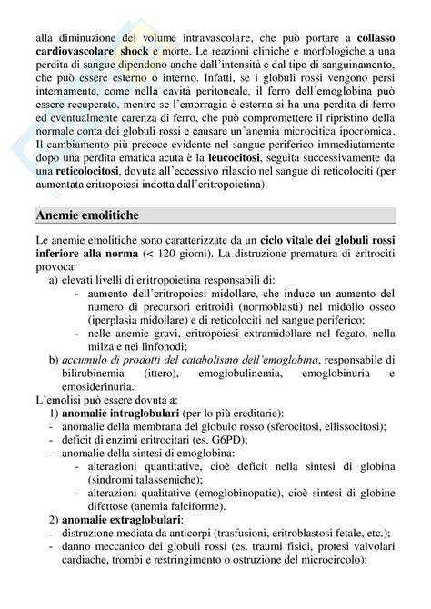 medicina interna appunti nozioni corso appunti di medicina interna