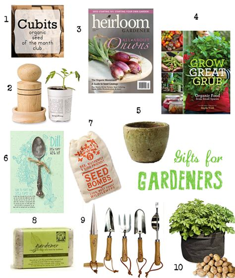 holiday countdown 10 gifts for gardeners under 50