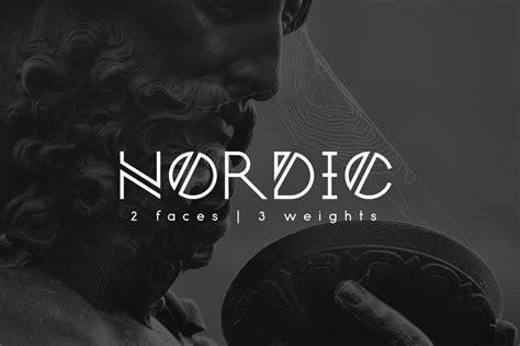 nordic font befontscom