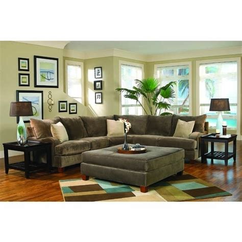 sectional sofa drink peanut butter cup 2 piece sectional with oversized