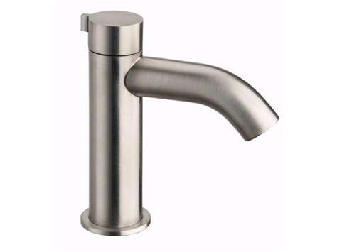 rubinetti cristina miscelatore per lavabo da piano monocomando in acciaio