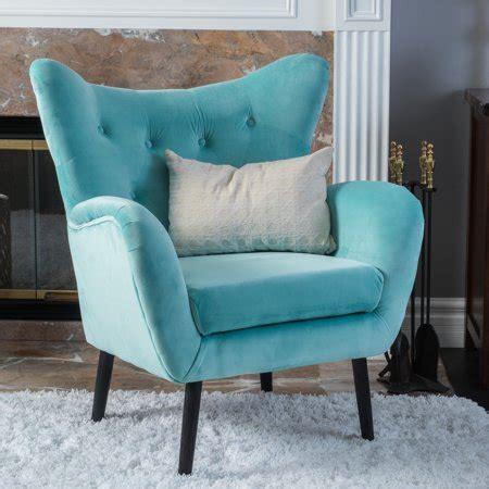 noble house simon light blue arm accent chair walmartcom