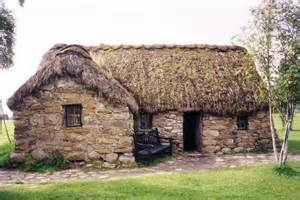 Farm Style House old leanach cottage 169 ruth riddle geograph britain and