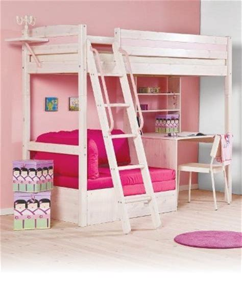 Trendy Bunk Beds Sofa Beds Thuka Trendy Sofa Bed Desk For Highsleeper In Pine