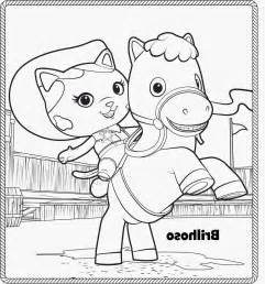 sheriff callie coloring pages free coloring pages of disney sheriff callie