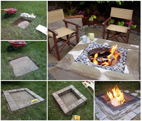 wonderful diy easy pit in backyard