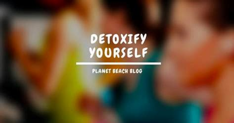 Detoxing Yourself by Detoxify Yourself Planet Spray Spa