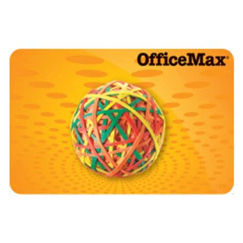 Officemax Gift Card Sale - office max merchandise credit 63 99