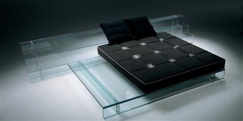 More Interesting Bed Frame Designs Pix O Plenty Glass Bed Frame