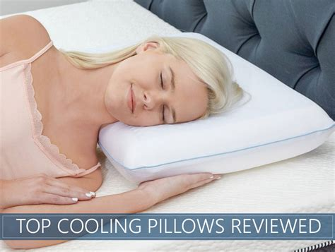 best bed pillows reviews the 8 top rated cooling cold head pillow reviews 2018