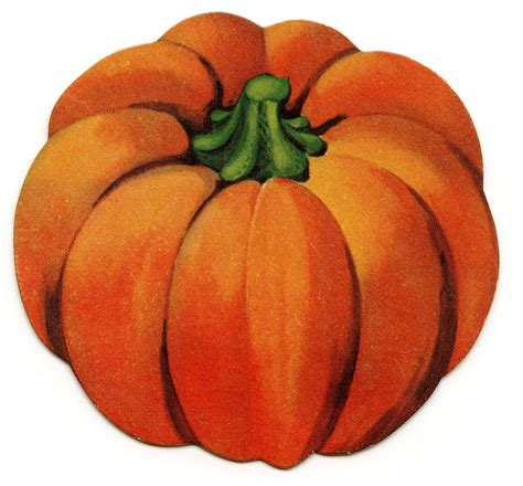 pumpkin clipart vintage clip pumpkin the
