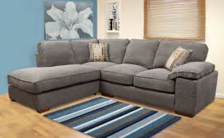 buoyant langden grey fabric corner sofas only 163 899 99