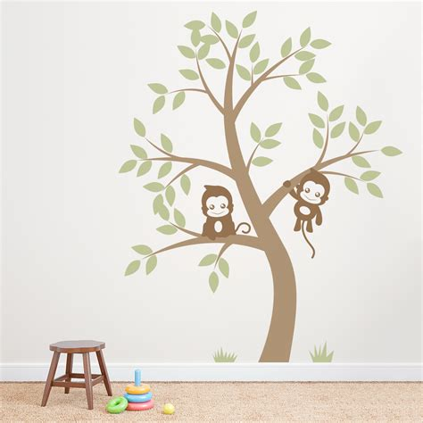 tree stickers for wall wall decals tree 2017 grasscloth wallpaper