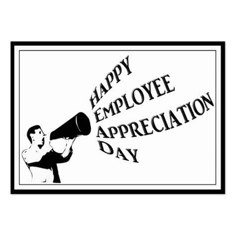 Appreciation Day Card Template by Employee Appreciation Business Cards 34 Business Card