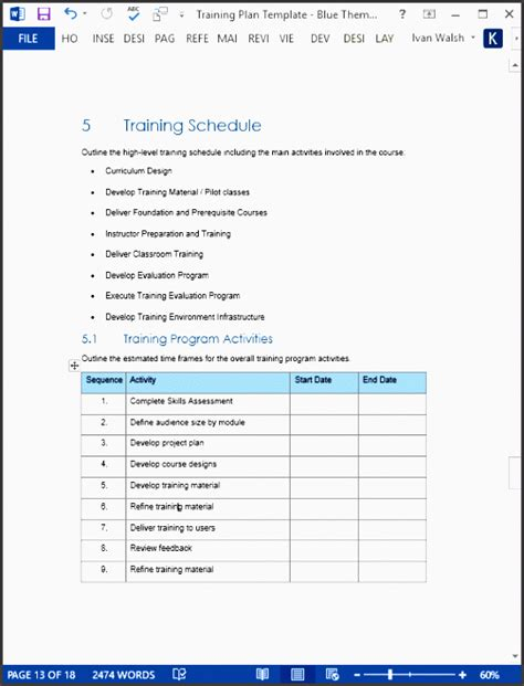10 Project Plan In Microsoft Word Sletemplatess Sletemplatess Project Plan Template Microsoft Word