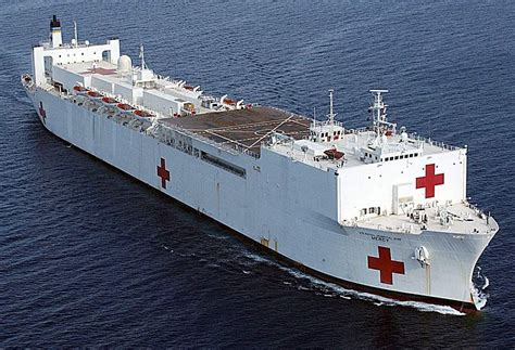 usn comfort usns comfort floating navy hospital visits panama