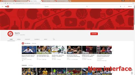 youtube layout keeps changing the only working way to change youtube interface to new