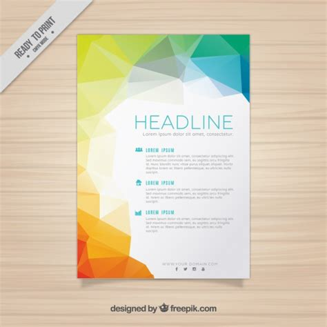 brochure templates for business free download business flyer template vector free download