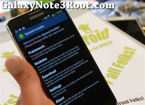 tutorial wanam xposed how to install wanam xposed app for rooted galaxy note 3