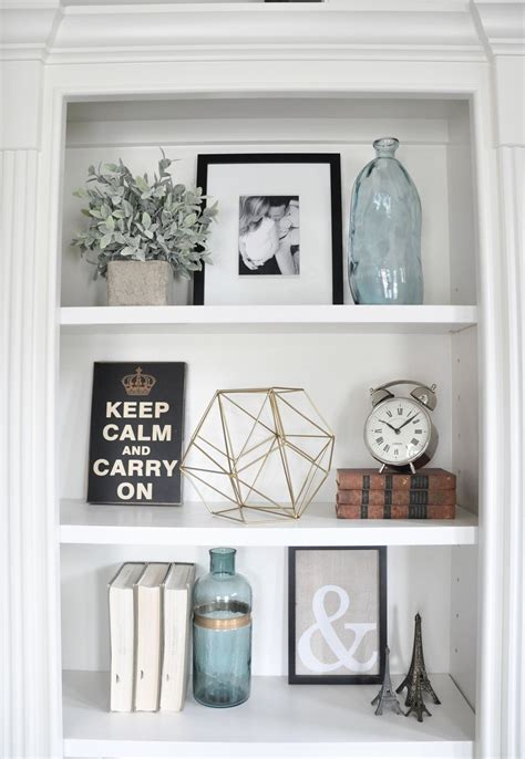 how to decorate built in shelves styling built ins instagram feed spaces and house