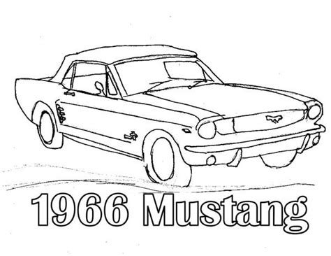 classic cars coloring pages for adults 1966 ford coloring pages