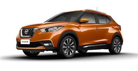 Nissan Kicks Versions Specifications