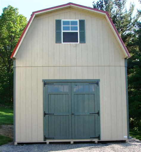Story Sheds by 2 Story Single Wide Sheds And Modular Garages The Barn