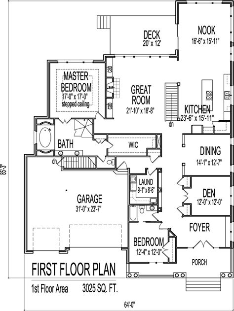 2 bedroom 2 car garage house plans 3 car garage house plans 3 bedrooms 1701 2250 square feet house plan w2671 detail