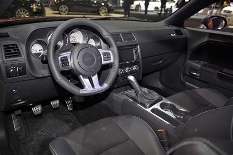 2014 challenger interior srt adds satin vapor editions for 300 challenger and