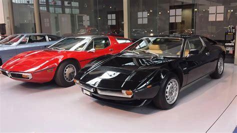 maserati museum gallery maserati 100 mega exhibition at autoworld museum