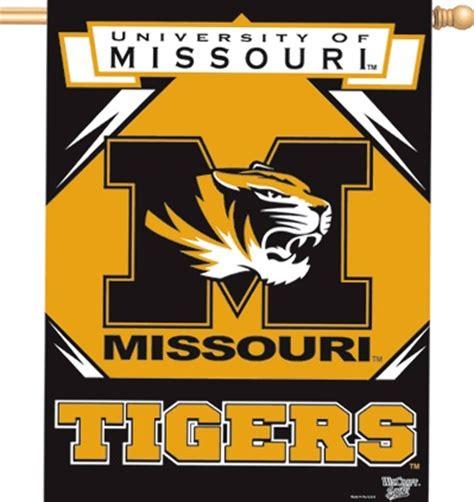 Mizzou Home Decor by Missouri Tigers M Tiger Logo Mizzou House Banner Flag 27x37 Quot