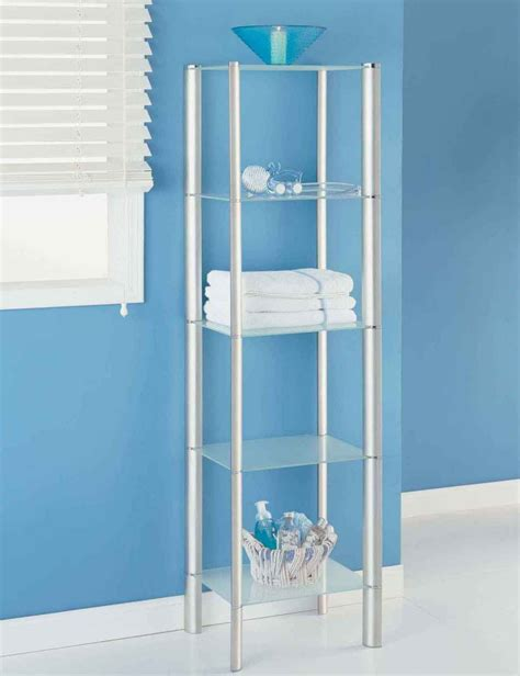 metal bathroom storage bathroom shelving betterimprovement com