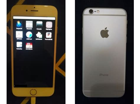 ebay iphone 6 iphone 6 prototype listed again on ebay as unfinished