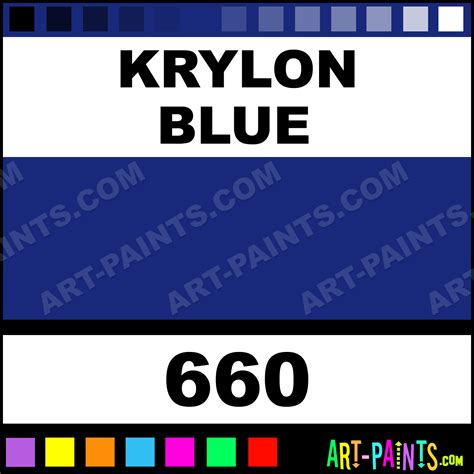 krylon blue pigment ink paints 660 krylon blue paint krylon blue color sun ink