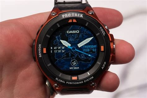 Casio Protrek Wsd F20 Like New look the casio pro trek smart android wear gps