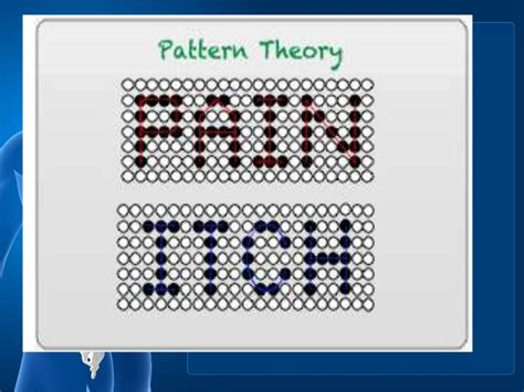 pattern theory goldschneider pain management ppt