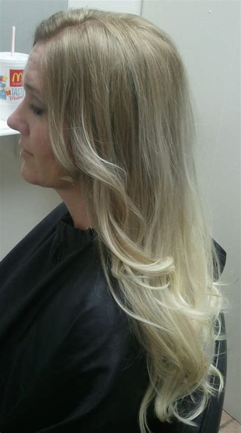 platinum blonde ombre hair platinum blonde ombre yelp