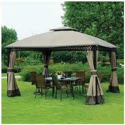 Big Lots Pergola by View Wilson Amp Fisher 174 10 X 12 Windsor Dome Gazebo Deals