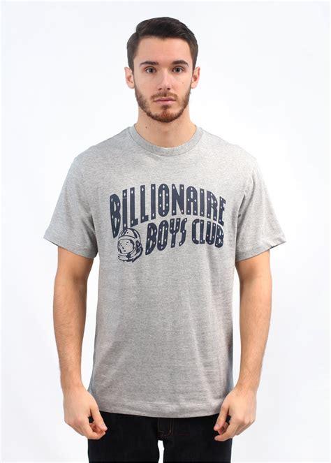 Tshirt Kaos Billionare Boys Club billionaire boys club classic arch t shirt grey peacoat