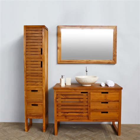 Teak Bathroom Furniture Teak Bathroom Furniture Stained Teak Bathroom Furniture In Brown Www Bedbathandbeyond Teak