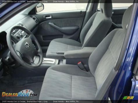 2005 Honda Civic Lx Interior by Gray Interior 2005 Honda Civic Lx Sedan Photo 8 Dealerrevs