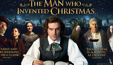 current movies in theaters the man who invented christmas by dan stevens the man who invented christmas new uk poster film and tv now