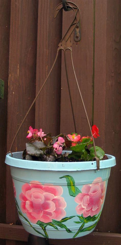 homemade flower pots cassie stephens diy rosy flower pots