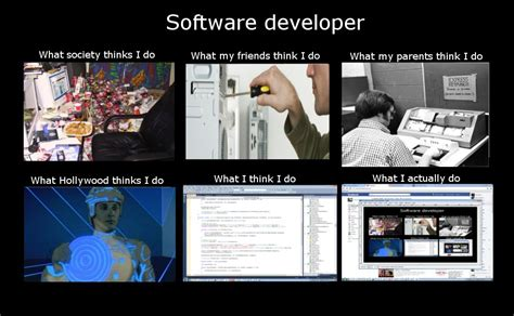 Meme Software - software developer meme