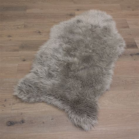 Sheepskin Runner Rug Sheepskin Carpet Rug Fluffy Sheep Skin Carpet Mat Imitation Fur