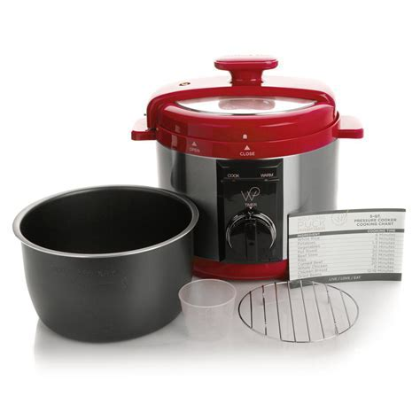 Wolfgang Puck 5 Qt Automatic Rapid Pressure Cooker with 44