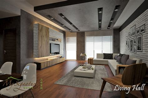 Plaster Ceiling Living Room 11 Living Room Designs For Malaysians To Netflix And Chill Recommend Living