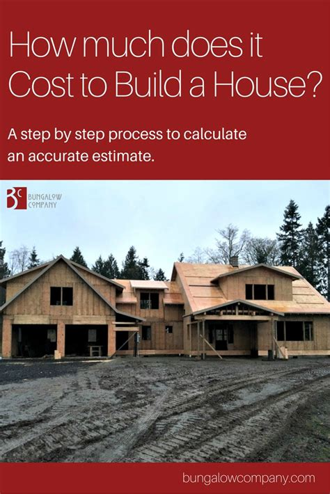 cost to build house what is the cost to build a house a step by step guide
