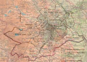sheffield map sheffield maps