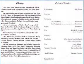 funeral biography template obituaries page 90249